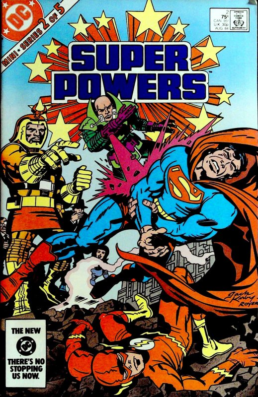 Super Powers  #2 (1984)