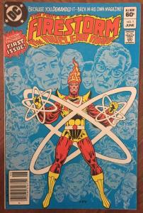 FIRESTORM THE NUCLEAR MAN #1, VF, The Fury Of, DC, 1982, more DC  in store