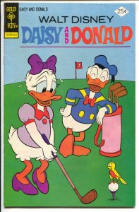 Donald And Daisy #14 1975-golf cover-FN