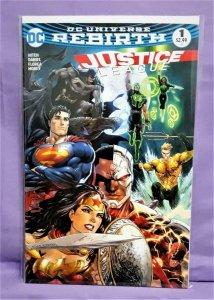 DC Rebirth JUSTICE LEAGUE #1 DF Tyler Kirkham Exclusive Cover (DC, 2016)!