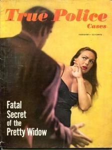 True Detective Magazine February 1950--JOHN DILLINGER-BABYFACE NELSON