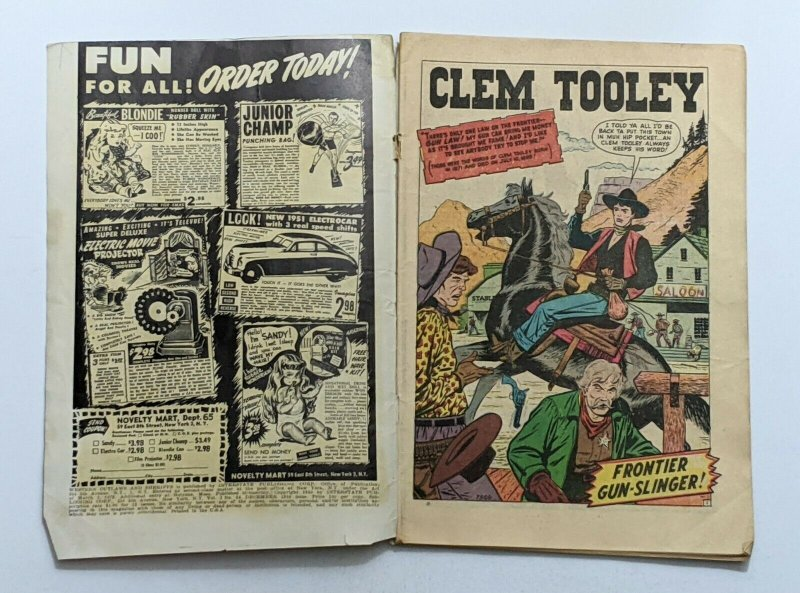 Western Outlaw And Sheriff #64 (Dec 1950, Atlas) G/VG 3.0