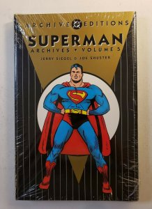 ARCHIVE EDITIONS SUPERMAN ARCHIVES VOL.5 HARD COVER GRAPHIC NOVEL NEW SEALED