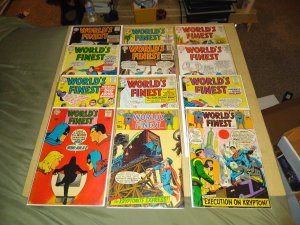 12 WORLD'S FINEST COMIC BOOK'S FOR SALE IN LOT