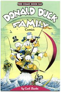 DONALD DUCK FAMILY, NM, FCBD, Carl Barks, Uncle Scrooge,2012,more  FCBD in store