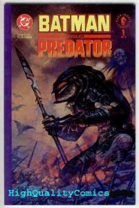 BATMAN vs PREDATOR #1 2 3, NM, Prestige, Arther Suydam,1991, Adam Kubert, 1-3