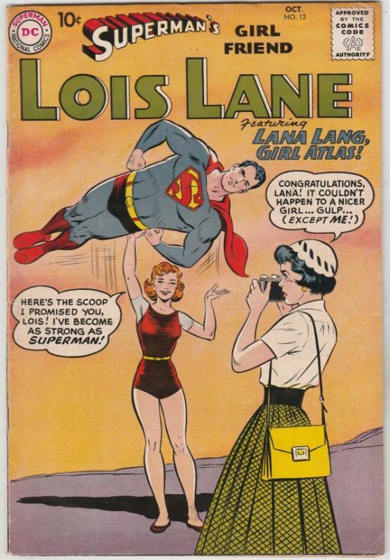 Superman's Girlfriend Lois Lane #12 (Oct-59) VF- High-Grade Superman, Lois Lane