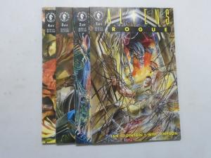 Aliens Rogue, Set:#1-4, Water Damaged 4.0 (1993)