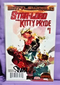 Secret Wars STAR-LORD and KITTY PRYDE #1 DF Signed Sam Humphries (Marvel, 2015)!