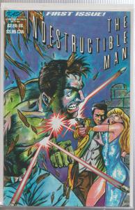 THE INDESTRUCTIBLE MAN #1 - KASO COMICS - 1998