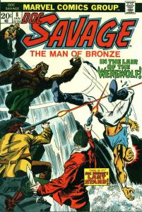 Doc Savage (Marvel) #8 FN; Marvel | save on shipping - details inside