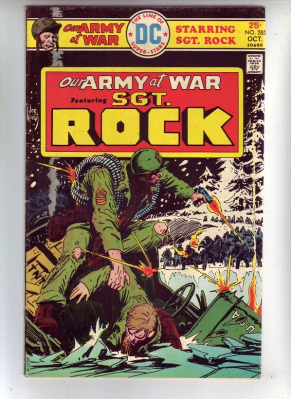 Our Army at War #285 (Oct-75) VF High-Grade Easy Company, Sgt. Rock