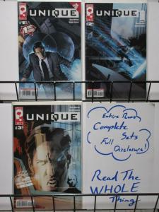 UNIQUE (2007 PLATINUM) 1-3  DEAN MOTTER  complete!
