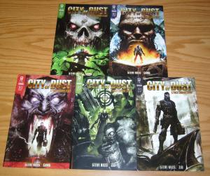 City of Dust #1-5 VF/NM complete series - steve niles - clint langley variants