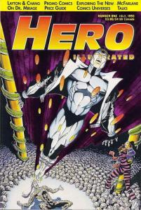 Hero Illustrated #1 VF/NM; Warrior | save on shipping - details inside