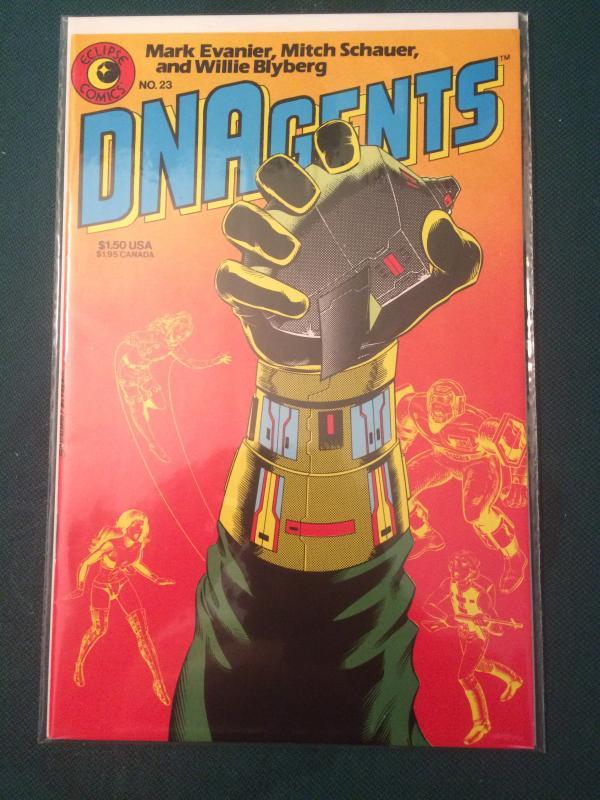 DNAgents #23 vol 1