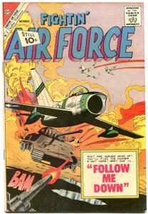 FIGHTIN' AIR FORCE #29-1961-CHARLTON WAR COMIC VF-