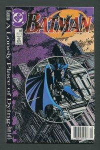 Batman #440  / 9.6 NM+  (Newsstand)  October 1989