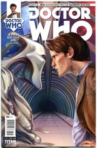 DOCTOR WHO #5 A, NM, 11th, Tardis, 2014, Titan, 1st, more DW in store, Sci-fi