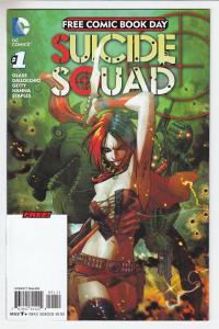 Suicide Squad #1 DC Comics Unstamped NM- FCBD 2016