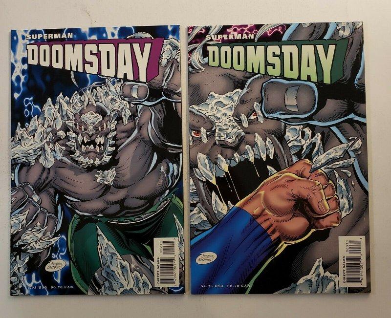Superman Doomsday #1-3 Complete Set Hunter/Prey NM Prestige Comic Format