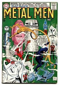 METAL MEN #6 DC comic book SILVER-AGE THE GAS GANG