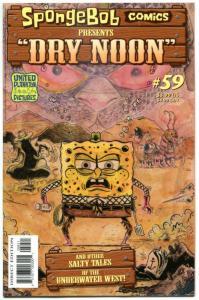 SPONGEBOB #59, NM, Square pants, Bongo, Cartoon comic, 2011, more in store