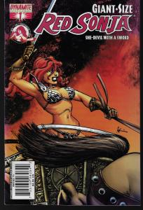 Red Sonja #1 Giant-Size (Dynamite Entertainment)