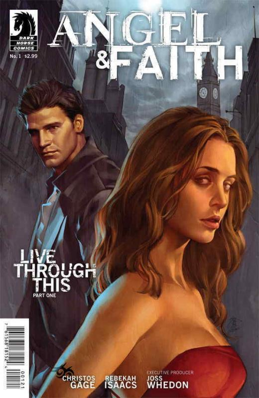 Angel & Faith #1B VF/NM; Dark Horse | save on shipping - details inside