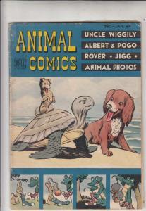 Animal Comics #30 (Dec-48) VG+ Affordable-Grade Pogo Possum, Albert Aligator