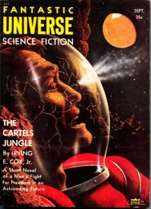 FANTASTIC UNIVERSE SCIENCE FICTION-September 1955-Pulp---Science Fiction Thrills