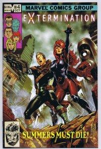 Extermination #4 2018 Marvel Comics Uncanny X Men 137 Homage Mark Brooks
