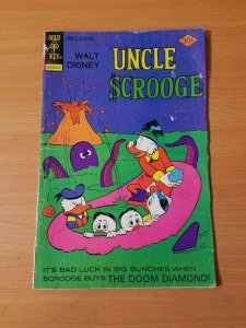 Uncle Scrooge #133 ~ VERY GOOD VG ~ (1976, Gold Key Comics)