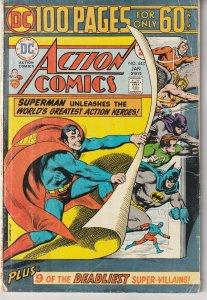 Action Comics(vol. 1) # 443 The Original 100PG Spectacular