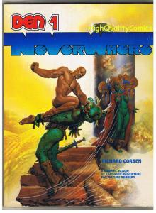 DEN 1 - NEVERWHERE, GN, Richard Corben, NM, 1991, Sealed, Fantagor