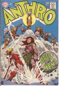 ANTHRO (1968) 2 VG  Sep.-Oct. 1968 COMICS BOOK