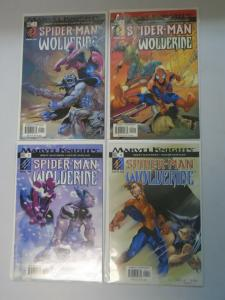 Spider-Man and Wolverine #1 to #4 set 4 different books 8.0 VF (2003)