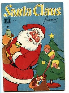 SANTA CLAUS FUNNIES #254 1949-DELL-FOUR COLOR-WALT KELLY-vg+