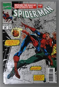 Spider-man #46   (newsstand)   VF/Better     See Actual Photo