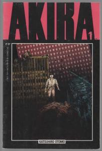 AKIRA (1988) 1 (1ST PR)  VG-F 1988