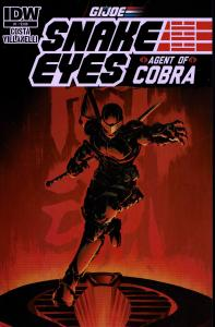 Snake Eyes Agent of Cobra #1 - NM - 2015
