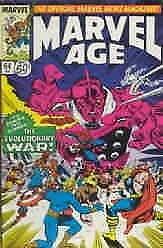 Marvel Age #64 VF; Marvel | save on shipping - details inside