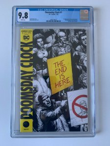 Doomsday Clock #1 DC 2018 1st  app of New Rorschach, Marionette & Mime - CGC 9.8