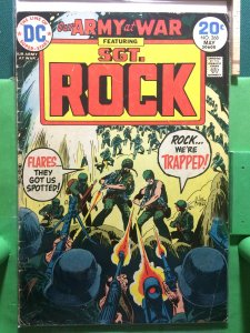 Our Army at War #268 featuring Sgt Rock 1974
