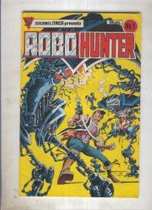 Robo Hunter numero 1: Mi nombre es Sam Slade (numerado 3 en trasera)