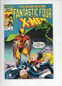 FANTASTIC FOUR vs the X-MEN #2, VF+, Wolverine, Dr Doom, 1987, more FF in store