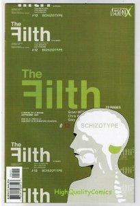 FILTH #12, NM+, Grant Morrison, Erskine, 2002, more Vertigo in store