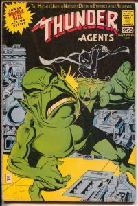 THUNDER Agents #15 1967-Tower Comics-Dynamo-Tuska-Wood-Gil Kane-FN