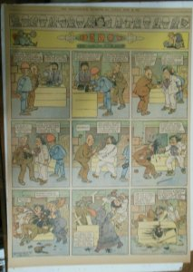 Percy The Robot Sunday Page by HC Greening from 6/16/1912 Full Page Size Rare !