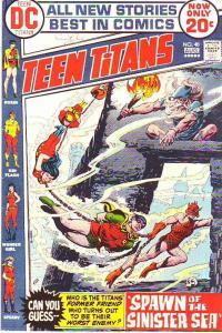 Teen Titans, The #40 (Aug-73) VF- High-Grade Kid Flash, Robin, Wonder Girl, S...